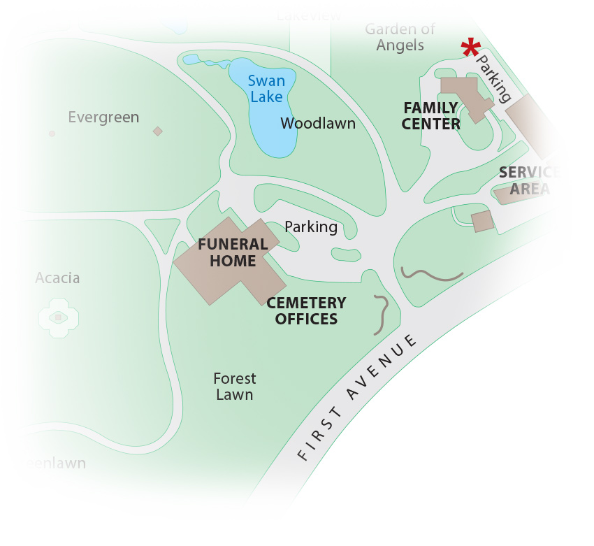 Cemetery Map - Family Center