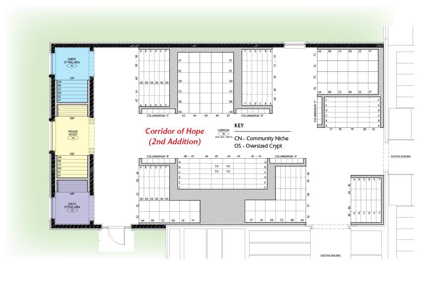 Corridor of Hope - 2nd Addition, floor plan